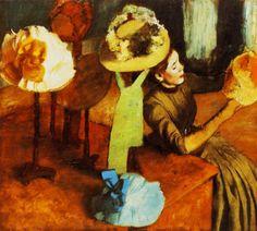 The+Millinery+Shop,+1884+-+Edgar+Degas