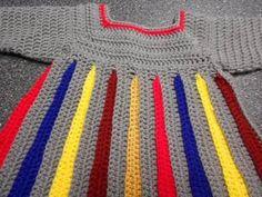 Sweter para niña Crochet parte 1 de 4 - YouTube