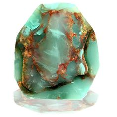 Jade is an ancient stone that has historically been used to attract love. It can be used to bring money into your life and is also a protective stone.The soothing green color of jade makes it a wonderful healing stone. It helps the body in selfhealing Cool Rocks, Beautiful Rocks, Minerals And Gemstones, Rocks And Minerals, Raw Gemstones, Le Jade, Mineral Stone, Rocks And Gems, Healing Stones