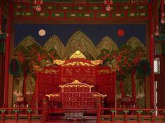 Seoul Gyeongbokgung Throne