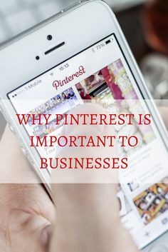 Why Pinterest Is Important To Businesses | via @borntobesocial
