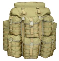 Something to carry it all in. K-TIC UK SF Alice Pack Khaki. The Dogs, but it needs a floating lid.