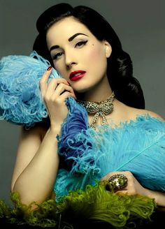 Dita Von Teese || #getlucky curated by your friends at luckybloke.com