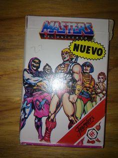 Baraja de cartas Masters del Universo