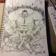 Hulk e spiderman
