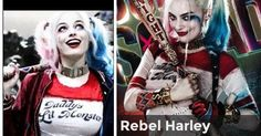 Rebel Harley | Which Harley Quinn Inspired outfit suits You? :)
