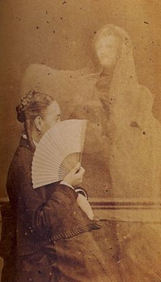 spirit photography: edward isidore buget, 'balzac', 1873-75