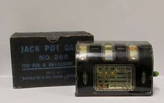 Antique Jack Pot Game by Buffalo Toys No. 266 by retrogal415