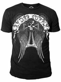 Ryder Supply Clothing Angel T-shirt (Black)