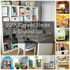 Ten IKEA Expedit Styling Tips & Hacks | 'A Casarella