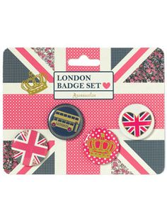 Royal Wedding Badge set $9