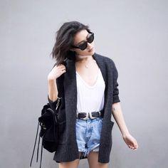 La tenue inspirante du jour  #lookdujour #ldj #outfitideas #outiftinspo #blackandwhite #inspiration #streetstyle #style #summer #fashion #trend #regram  @currentlylusting