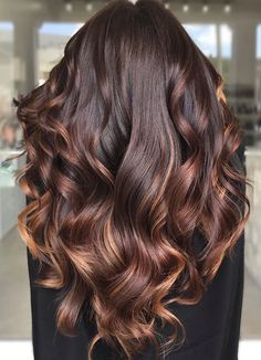 10 Fall/Winter Hair Colour Ideas For Brunettes - Blush & Pearls - - Looking to update your hair color this fall/winter? Browse some hair color and balayage ideas here to give your hair a bold update! Brown Hair Color Shades, Hair Color Dark, Ombre Hair Color, Brown Hair Colors, Hair Colour, Hair Color Ideas For Dark Hair, Chocolate Brown Hair Color, Dark Hair With Highlights, Hair Shades