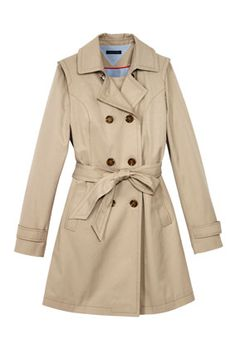 A Trench You Can Wear 3 Ways Tommy Hilfiger $160
