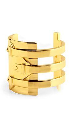 d0c72022f57 Shop Harness Cuff by Jennifer Fisher Now Available on Moda Operandi Gold  Fashion, Diva Fashion
