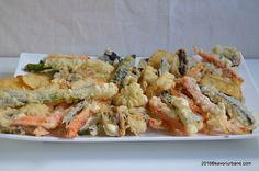 Legume prajite in aluat crocant cu bere – tempura