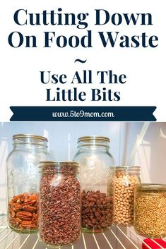 Food waste bothers me. Hopefully these tips help you cut down on waste and save money.