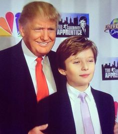 MELANIA TRUMP (@MELANIATRUMP) | Twitter.....Donald Trump with son Baton.