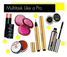 Multitask Your Makeup Bag - repinned by www.dobundle.com