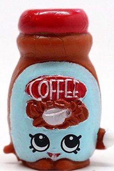NEW Shopkins Season 2 #2-075 Brown Toffy Coffee (Rare) #Shopkins