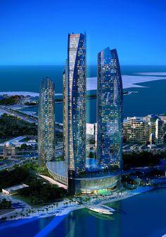 Hotel de Lujo en Abu Dhabi: Jumeirah at Etihad Towers - #PASIONLUJO #LIFESTYLE #LEBLOG