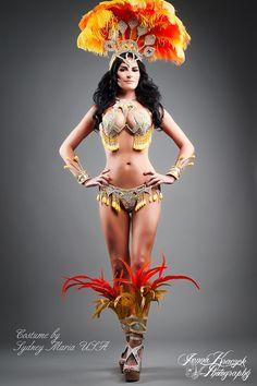 SUNSET Samba Costume.
