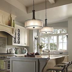 Lacey Drum Pendant by Kichler at Lumens.com