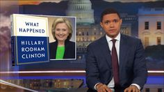 Hillary Clinton Unloads on Trump - The Daily Show with Trevor Noah | Comedy Central