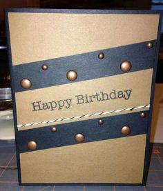 Spacey looking card! Could be great for boys birthdays!