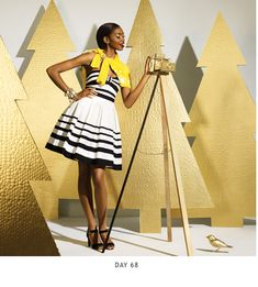 love the styling of this whole Kate Spade shoot. Christmas Stage Design, Ward Christmas Party, Christmas Photo Booth, Christmas Window Display, Christmas Backdrops, Xmas Party, Christmas Decorations, Christmas Mini Sessions, Christmas Minis