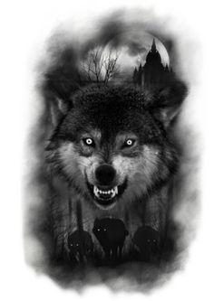 Bear tattoos, wolf tattoos men, body art tattoos, tattoos for guys, wicked Wolf Tattoos Men, Animal Tattoos, Tattoos For Guys, Cool Tattoos, Small Tattoos, Fish Tattoos, Wolf Tattoo Sleeve, Best Sleeve Tattoos, Tattoo Wolf