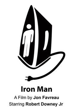 Iron Man pictogram by ~1amthetruth on deviantART