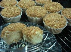 Muffins de Coco Sem Glúten, Sem Leite e Sem Ovos!