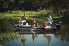 TRACKER Boats : Basic Bass Boat