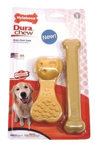 Dura Chew Wavy Bone (Chicken)/Flat Bone (Peanut Butter) twin pack offers multiple textures to increase tactile and chew Dog Food Online, Dog Chews, Dog Food Recipes, Peanut Butter, Chicken, Dogs, Flat, Bass, Pet Dogs