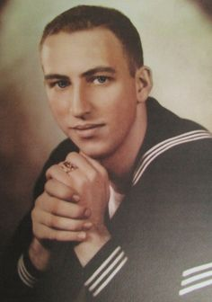 Seaman Duane Payne is pictured as a 20-year-old seaman who served aboard the destroyer USS Bigelow. The thing that distinguished him during his service career was his ability to typed. Photo provided