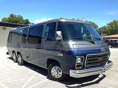 1974 GMC TZE Motorhome, Renovated & rebuilt with many upgrades & improvements.