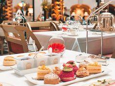 The Landmark London ( Winter Garden Restaurant, London Instagram, London Landmarks, Afternoon Tea, Table Settings, Table Decorations, Videos, Photos, Pictures