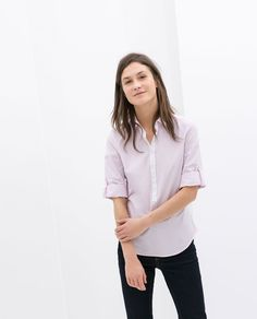 ZARA - NEW THIS WEEK - COMBINED SHIRT