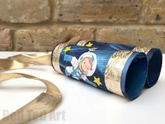 Curious George lovers will adore this cute little craft - get the kids exploring space with these adorable TP Roll Binoculars and Curious George. (PS did you know that ALL of Curious George is now only on Hulu??? So cool!)