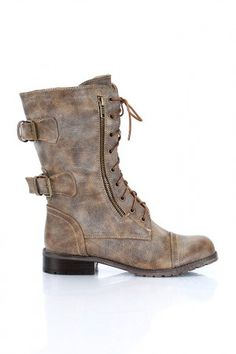 military inspired boots