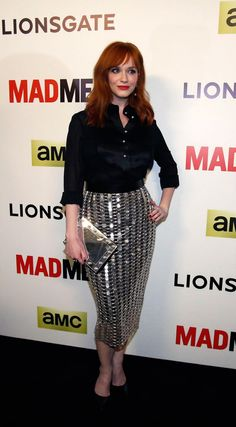 10 Glamorous Style Lessons From Christina Hendricks