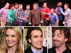 """Hear the Songs and Meet the Stars of Broadway's New Musical Comedy """"Something Rotten"""" - YouTube"""