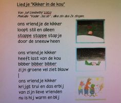 Liedje kikker in de kou op melodie van vader Jacob. Frog Theme Preschool, Preschool Lessons, Christmas Time, Crafts For Kids, Teaching, Projects, School Stuff, Clothes, Ideas