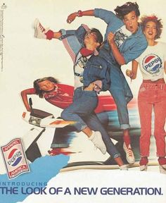 "Pepsi Made ""Trendy"" Clothes In The '80s"
