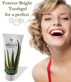 Forever bright, no fluoride, but with propolis and aloe vera! / https://www.facebook.com/foreverliving.jgl/