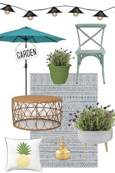 Outdoor Furniture and Decor picks for your porch, patio and yard.  #backyard
