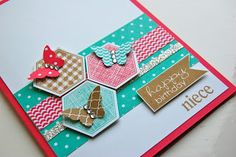UK Independent Stampin' Up! Demonstrator - Julie Kettlewell: Six Sided Sampler and a Competition!