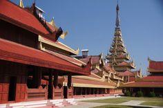 Le palais de Mandalay