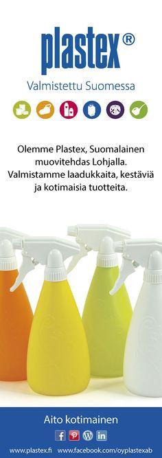 Plastex! Made in Finland!